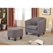 Isabella Fabric Accent Chair and Ottoman Free Shipping Today