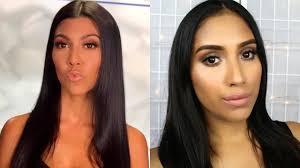 kourtney kardashian everyday glam makeup natural makeup look you