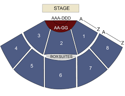 Amp Seating Chart Pacific Amphitheatre Costa Mesa Ca Seating Chart Stage