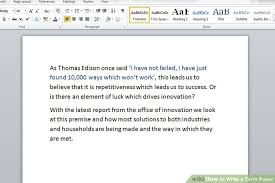 how to write a term paper example papers image titled write a term paper step 5