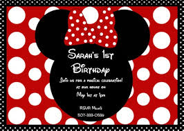 mickey and minnie invitation templates free minnie mouse 1st birthday invitations templates amazing