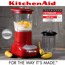 kitchenaid artisan blender empire red