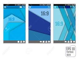 Vector Image Format In Ui Design Vector Ui Layout For Mobile Smartphone App In New Design System