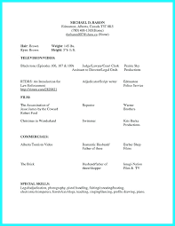Movie Theatre Resume Actor Resume Samples Movie Theater Sample Acting Beginner Example