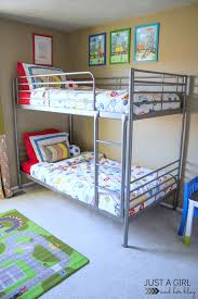 Shared Boys Bedroom A Shared Boys Bedroom Some Updates And Free Printables Just