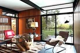 retro home office. Mid Century Modern Office Spectacular Home Designs For A Retro Feel E