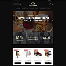 Flash Website Templates Beauteous Brewery Templates Brewery Website Templates