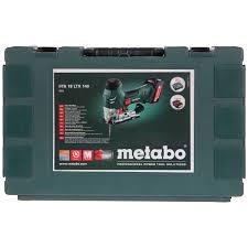 Аккумуляторный <b>лобзик Metabo STA 18</b> LTX 140 601405500 в ...