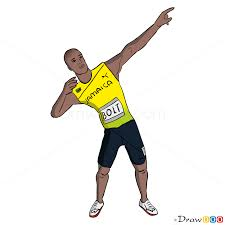 Small Picture How to Draw Usain Bolt Temple Run