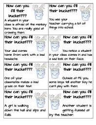 Small Picture Best 25 Bucket filler activities ideas on Pinterest Bucket