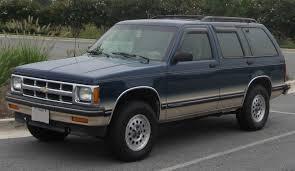 1988 Chevrolet S-10 Blazer - Information and photos - MOMENTcar