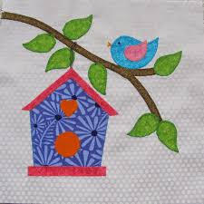 Stitching With 2 Strings: Quilt Along Block #8, Birdhouse & Quilt Along Block #8, Birdhouse Adamdwight.com