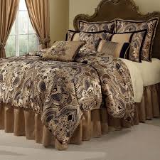 beautiful design of black and white damask comforter best home