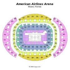 American Airlines Arena 3d Seating Chart
