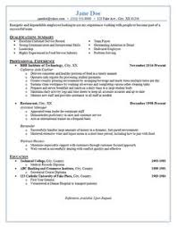 resume for restaurant cv template office resume examples simple sample resume resume