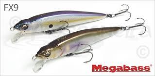 <b>Воблеры Megabass</b> - <b>FX9</b>: описание, цена, оптовые продажи