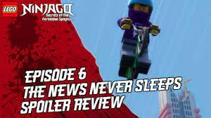 Ninjago Secrets of The Forbidden Spinjitzu: Episode 6 - The News Never  Sleeps Spoiler Review - YouTube