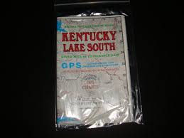 Atlanta Mapping Kentucky Lake South Enlarged Version Geographic Gps Charts And Above Water And Underwater Topography Map