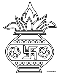 You must give a link to this page and indicate the author's name and the license. Diwali Coloring Pages For Kids Pitara Kids Network