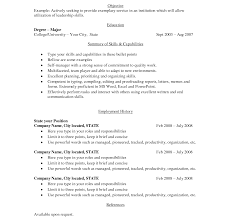 How To Do Simple Resumes Targergoldendragonco Resume Sample For Jobs ...