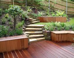 Gardening & Park, Garden Small City Garden Ideas Beach Build Planter  Designed Walls Easy A