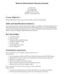 System Administrator Sample Resume Download Windows Server