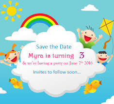 Save The Date Cards Birthday Party Save The Date Templates Free