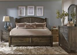 Modern Country Storage Bedroom Set By Liberty Home Gallery Stores