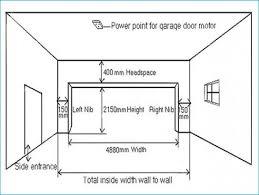industrial garage door dimensions. Single Garage Door Width Australia Home Desain 2018 Throughout Heights Prepare 14 Industrial Dimensions