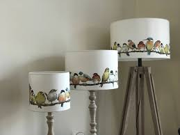 lampshade home decor table lamp floor lamp lighting drum lamp shade garden birds laura ashley garden birds pendant ceiling