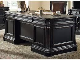 hooker furniture telluride 76 wood executive desk h47