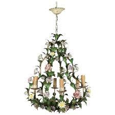 astounding vintage italian tole chandeliers pictures concept