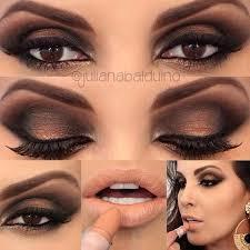 black dress eye makeup chart