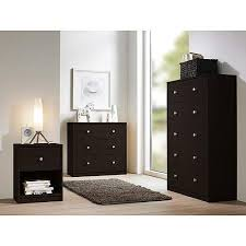 dresser and chest set.  Set Studio Collection 3piece Bedroom Set Coffee With Dresser And Chest Set O