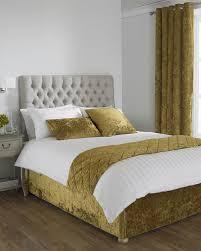 Bedspreads | Duvet Covers And Beddings Sets | Terrys Fabrics & Verona Crushed Velvet Bed Runner Adamdwight.com