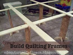 the top notch is for your quilting frames to sit in
