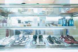 we decided to start a sneaker laundry service to give people an option she added