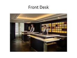 Organizational Chart Of Front Office Management Introduction To Front Office Organization Hierarchy Duties
