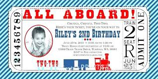 Birthday Invite Ecards Thomas The Train Birthday Invitations The Train Invitations Th