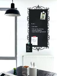large chalkboard wall decal decorative elegant style calendar monthly d