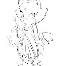 Sonic Style Coloring Pages Psubarstoolcom
