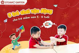 5 trò chơi vận động cho trẻ mầm non 5 - 6 tuổi