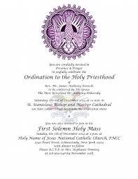 Ordination Invitation Template Best Photos Of Deacon Ordination Invitation Wording Deacon