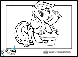Small Picture My Little Pony Applejack Coloring Pages Minister Coloring