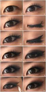 here s the tutorial for the brown smoked out wing eyes i m sporting here yes i posted the tutorial for this look on my insram a