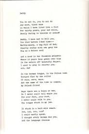 plath s ldquo daddy rdquo poem anne sexton and poem quotes daddy sylvia plath pt 1 my favorite by her