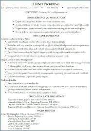 Customer Service Representative Job Description Resume Enchanting Waitress Duties Resume