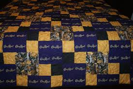 Crown Royal Quilt Custom Made to Order Crown Royal Quilt & Like this item? Adamdwight.com