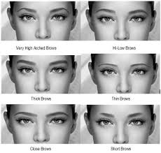 makeup tips for low eyebrows