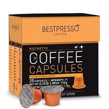 Trader joe's nespresso compatible espresso lungo and ristretto sampler capsules 1.8 oz ground coffee (sampler 20 capsules) 13 $17 99 ($9.00/count) The Best Nespresso Pods May 2021